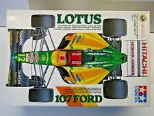 Lotus 107 Ford 1/20 Tamiya Formula 1 F1 Racing Car Model Kit Herbert Hakkinen