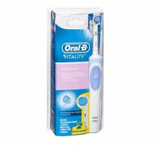 Oral B Vitality Sensitive Clean Rechargeable Electric Toothbrush w/ 2 Brush Head
