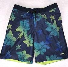 Speedo Mens Large Floral Swim Suit