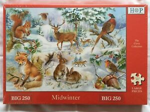 Brand New House of Puzzles BIG250 Large Piece Jigsaw Puzzle - MIDWINTER