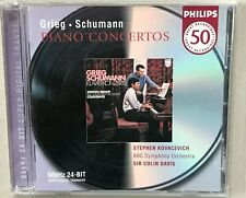 Stephen Kovacevich GRIEG SCHUMANN PIANO CONCERTOS 24 bit cd 2001 NEW!  BMG issue