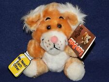 "7"" Vintage 1979 Russ Berrie Luv Pets WE NEED EACH OTHER Lion Cub Plush NWT NEW"