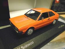 VW Volkswagen Scirocco 1 MKI 1974 orange RARE PMA Minichamps SP 1:43