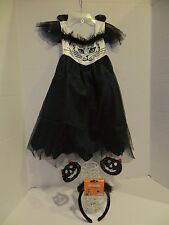 Kitty Cat Costume Girls  Sz 2-4T