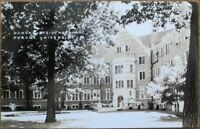 Lafayette, IN 1930s Realphoto Postcard: Purdue University Women's Dorm - Indiana