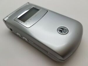 Working Cheap Motorola T720 Silver (Unlocked) Mobile Flip Phone