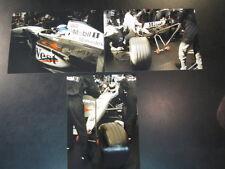 Photo West McLaren Mercedes MP4/14 1999 #1 Mika Hakkinen (FIN) Pit stop 3 photos