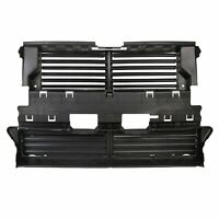 New Black Radiator Grille Shutter W/O Actuator For  2013-2016 Ford Fusion