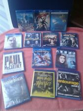 "Blue ray movies lot..{13 blurays}...""ALL BRAND NEW""..Spiderman/""3D movies""Look!"