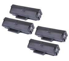 4x Toner Cartridge for Samsung MLT-D104S ML1660 ML1661 ML1665 ML1666 SCX-3200