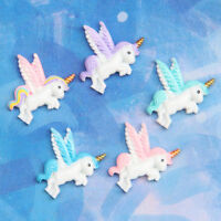 5pcs Pegasus flatback resin cabochon for Diy phone deco scrapbooking KK