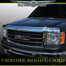 2007-2013 GMC Sierra 1500 ABS Chrome Bug Shield Deflector Hood Guard Protector