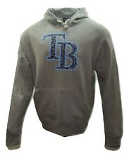 Tampa Bay Rays MLB Notebook 5th & Ocean Baseball Pullover Hoodie by New Era