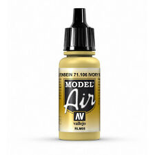 Vallejo Model Air: Ivory - Acrylic Paint Bottle 17ml VAL71.106