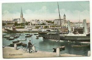 Kingstown Co. Dublin Ireland Postcard