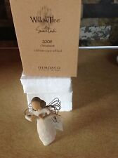 "Willow Tree 2008 Ornament ""Celebrate A Year Well Lived"" In Box - Brunette Hair"