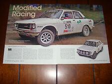 1970 DATSUN 510 RALLY RACE CAR  - ORIGINAL 2006 ARTICLE