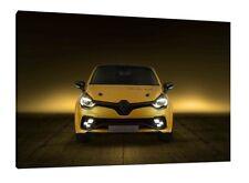 RENAULT CLIO RS - 30x20 pouces Toile Encadré Photo Wall Art Print