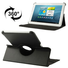 Smart Leder Optik Cover Samsung Galaxy Tab 2 10.1 GT-P5100 Tasche Case Hülle