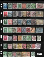 Early stamp collection /  100+ All different 1880-1930 / Pre Third Reich Germany