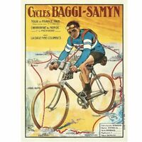 "Baggy-Samyn Tour De France Fine Art Bicycle Poster Bicycle Poster 18"" x 24"""