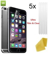 5 X Gorilla Clear Plastic Screen Guard LCD Protector Film For iPhone 5,6,8,XR,XS