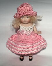 ANTIQUE ALL BISQUE REPRODUCTION DOLL*MIGNONETTE DOLL*REPRO DOLL*GOOGLY
