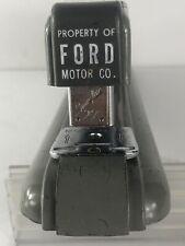 VTG  Swingline No 27 Property Of Ford Motor Co Desk Stapler Gray Mid Century