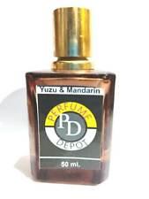 YUZU & MANDARIN 50 ml. PERFUME. Premium Blend Artisan Cruelty Free/ Hand crafted