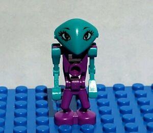 LEGO® LoM Minifigure Life on Mars Martian Cassiopeia 7317 Purple Alien