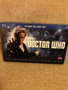 Doctor Who: The Complete Peter Capaldi Years (Blu-ray Disc, 2018)