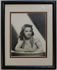 Kathryn Grayson Vintage Signed Autograph Photo Display Signature Framed