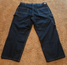 82ba75b41 Men s Ralph Lauren Polo CARPENTER 8 Pocket Blue Jeans 42x34 actual   42x28  NICE!