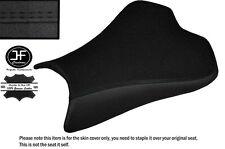 GRIP DESIGN 2 BLACK DS ST CUSTOM FITS KAWASAKI NINJA ZX6R 09-15 FRNT SEAT COVER