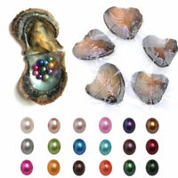 Akoya Pearl Oysters With Real Pearl 7-8mm Freshwater Pearl Vacuum Packaging
