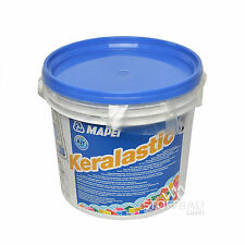 (EUR 16,00/kg) MAPEI Keralastic T - Polyurethanklebstoff, weiß, 5 kg