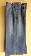 Tommy Hilfiger Women's Classic Boot Cut Jeans, Size 4R, 30x32.5, Rise 7.5