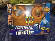 FREE SHIPPING! Fantastic Four Electronic Thing Feet Toy Biz FOR PARTS REPAIR