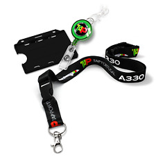 TAP Air Portugal A330 Dye Sublimation Lanyard Set