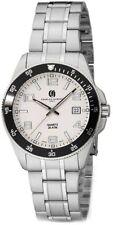Mens Charles Hubert Stainless Steel White Dial Watch XWA5524