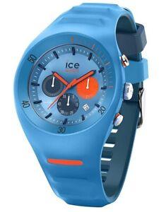 Ice-Watch ICE 014949 P. Leclercq Light blue Large Uhr Chronograph Chrono blau K9