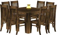 Esstisch Holz Pinie massiv 120x120 Eiche antik Küche kolonial Tisch Tische Hotel