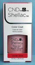 CND Shellac WINTER GLOW pastel pink Gel Color Power Polish AURORA Collection NIB