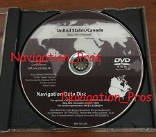 2005 - 2011 Cadillac STS 2016 Navigation DVD Map Update p/n: 23286274 ver 10.0