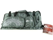 Yoga EVO Open End Yoga Mat Bag, 5 Large Pockets, Fits Any Mat