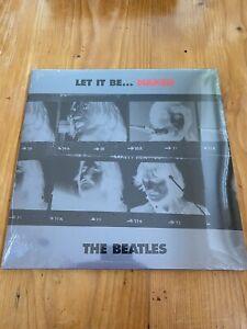 """THE BEATLES - Let It Be... Naked STILL SEALED 1st EU LP + 7"""" 2003 Vinyl NEU"""