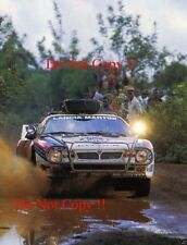Markku Alen Martini Lancia 037 Safari Rally 1986 Photograph