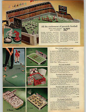 1968 PAPER AD Game Football Electric Golf Arnold Palmer Playviewer Hockey Eject