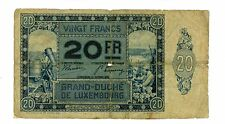 Luxembourg ... P-37 ... 20 Francs ... 1929 ... *VG+*