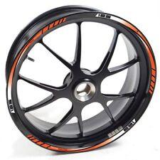 ESES Pegatina llanta KTM  RC 125 RC125 RC-125 Duke Naranja adhesivo cintas vinil